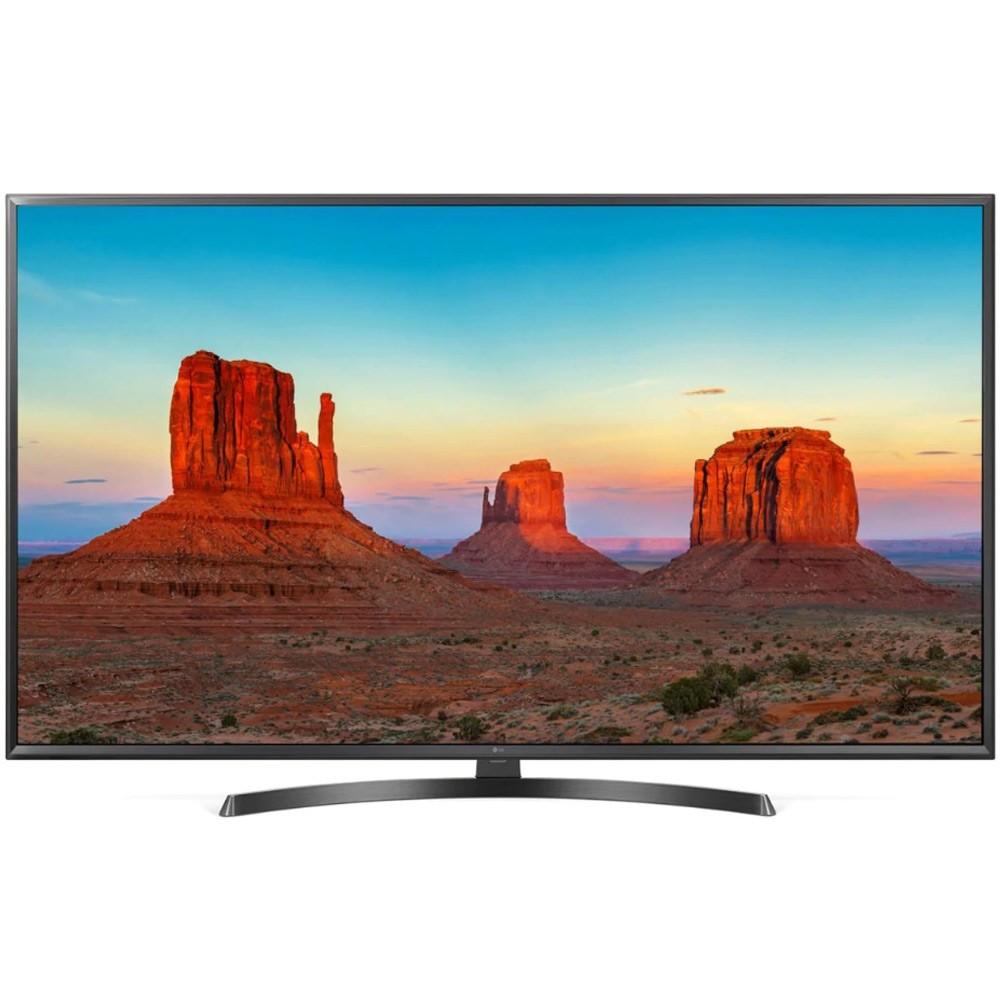 LG 49 inch UK6400 Series IPS UHD 4K HDR Smart LED TV with ThinQ AI, 49UK6400PVC