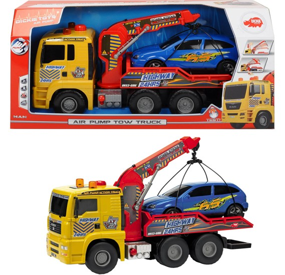 Dickie  Pump Action Tow Truck,203809001