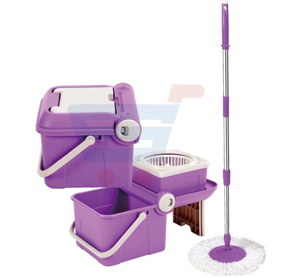 Royalford Magic Spin Easy mop With Folding Bucket - RF5825