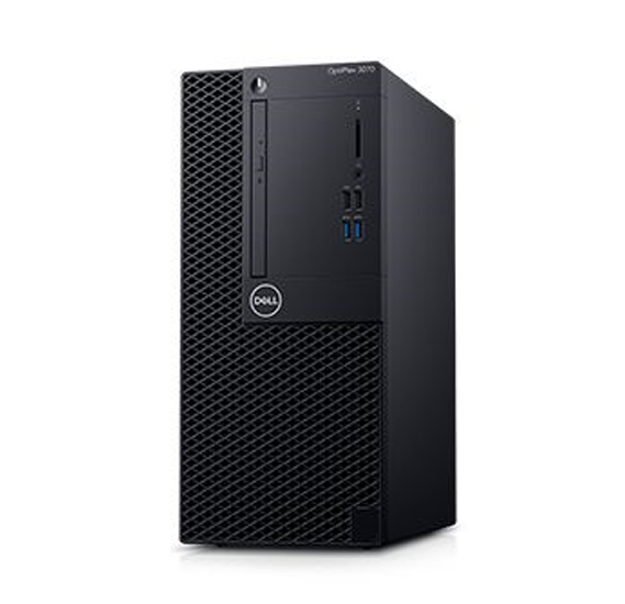 PC Dell OPTI 3070 I3 9100, 4GB DDR4 2666, 1TB, DVDRW, DOS 1 year