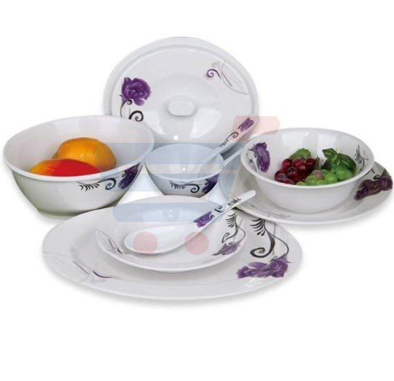 RoyalFord 40 Pieces Melamine Dinner Set - RF6720