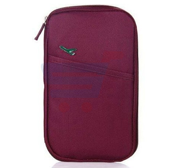 Travel Passport Credit ID Card Cash Document Bag