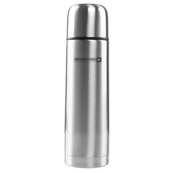 Royalford RF4947 Stainless Steel Vacuum Bottle, 750ml Sleek design