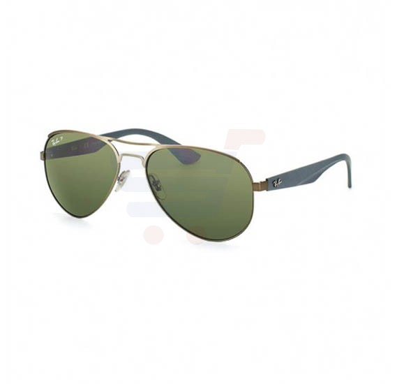 6ce69e8a410 Ray-Ban Aviator Gunmetal Frame   Green Mirrored Sunglasses For Women -  RB3523-029