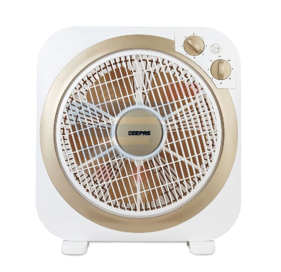 Geepas 12 Inch Box Fan GF9498, With 60 Minutes Timer Function