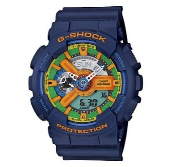 Casio G-Shock Sport Watch For Men - GA-110FC-2A