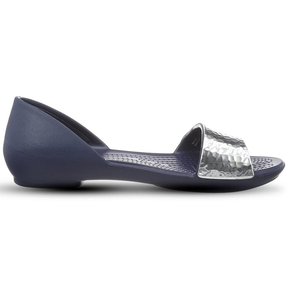 Crocs Womens Clogs Sandals Lina Embellished Dorsay, Size 35