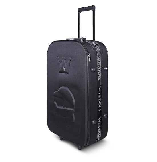 Buy Wisdom 28 inch trolly Black Online Oman, MUSCAT | OurShopee com