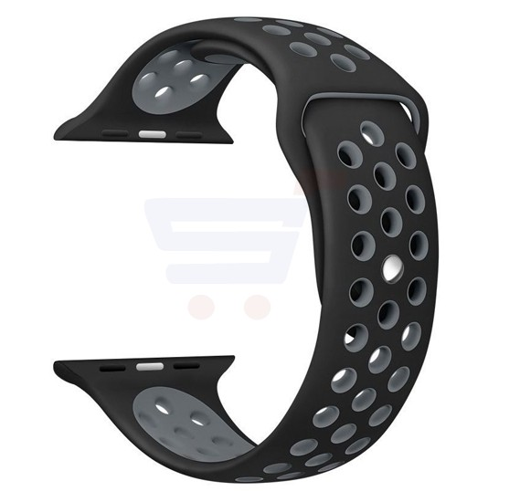 Silicone Strap Wristband For Apple Watch 42MM Band- Grey