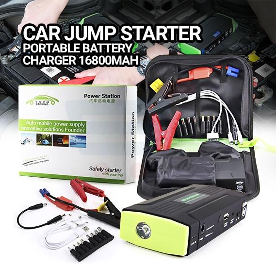 Car Jump Starter Portable Battery Charger 16800mAh