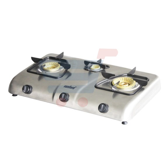 Sanford Three Burner Gas Cooker, SF5400GC 100% Teflon Body