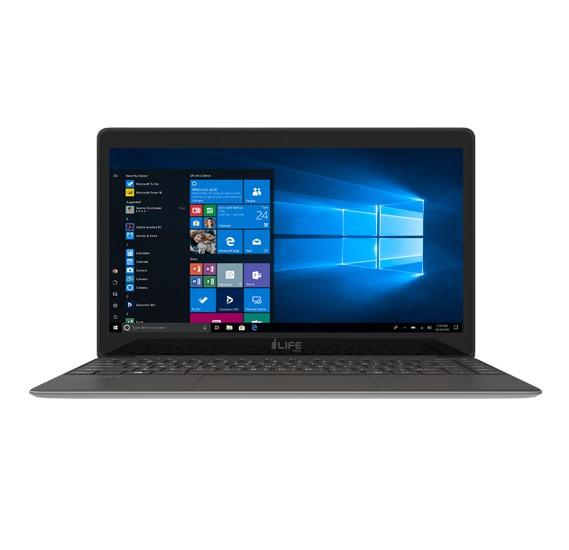 i-life ZedAir X, Intel Celeron 13.3 inch Laptop, 4GB Ram, 128GB Storage, Windows 10 - Grey