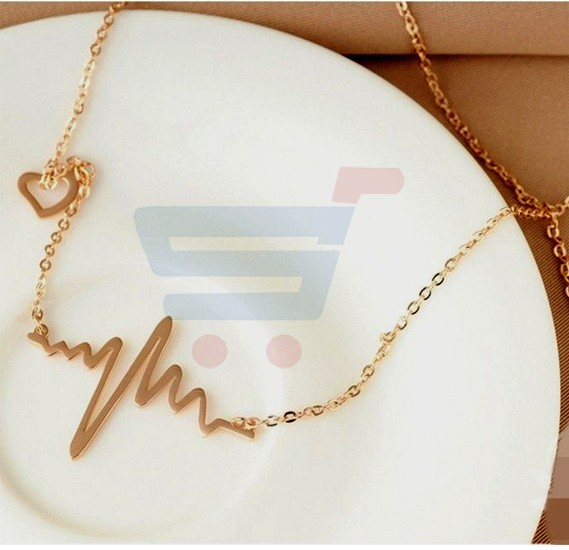 Rose Gold Plated Necklace For Women