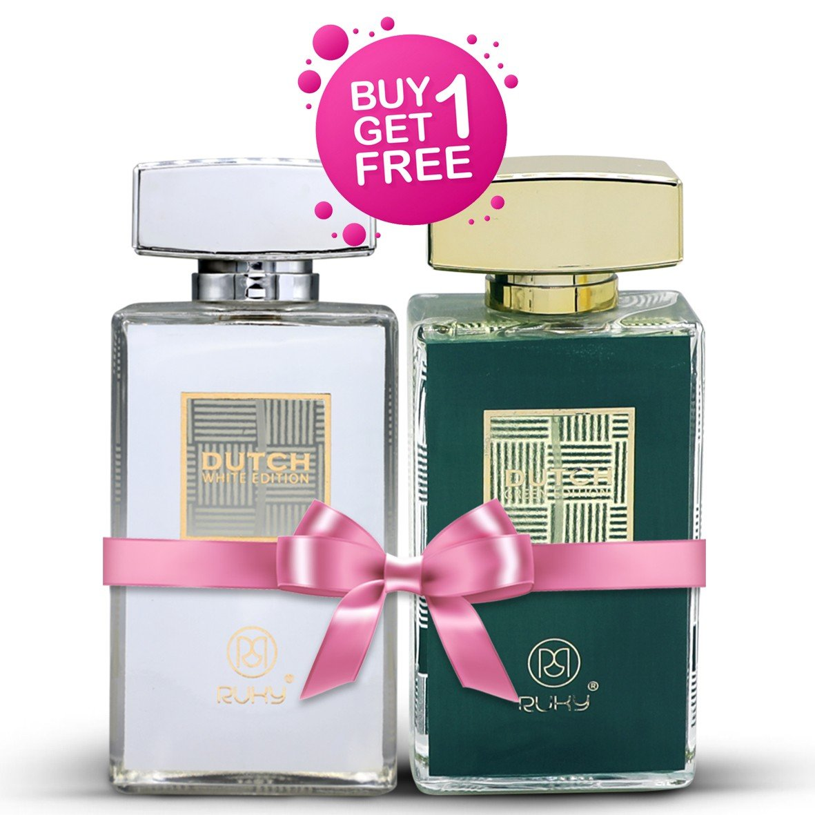 Ruky Perfumes Buy 1 Get 1 Eid Offer, Buy Dutch Green and Get Dutch White