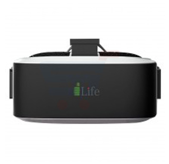 i-Life VirPix II Virtual Reality System, Black Highlights, - Quad Core, 2GB RAM, 16GB Storage, - Black