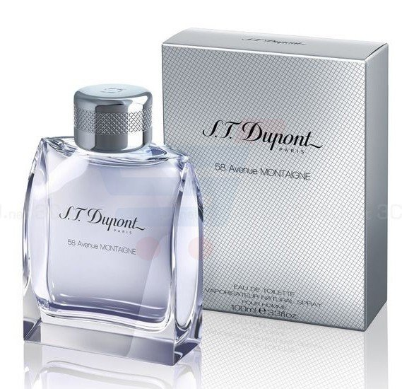 S.T. Dupont 58th Avenue Montaigne Edt 100ml