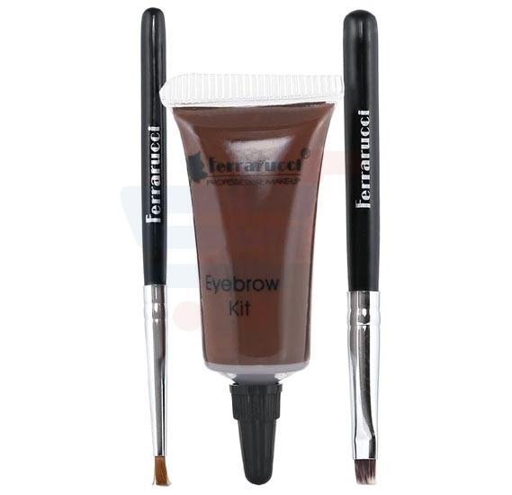 Ferrarucci Kit Sourcils and Eyebrow Kit 8ml, 02