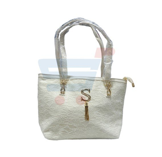 Susan Fashion Women Hand Bag Leather-White SU8014