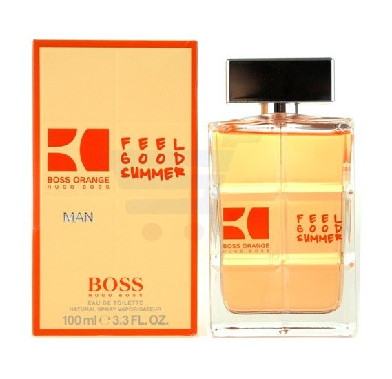Hugo Boss Orange Feel Good Summer EDT 100ml For Men