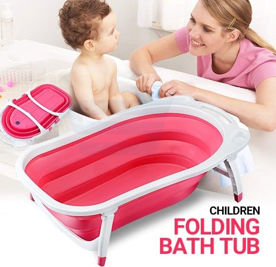 T&F Children Folding Bath Tub