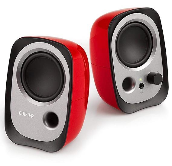 Edifier USB Powered Laptop Speakers - R12U - Red