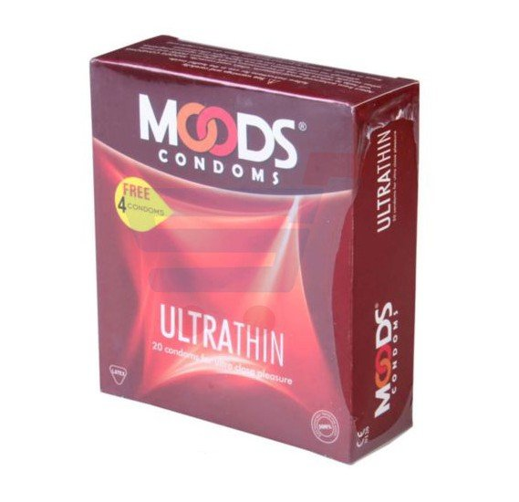 Moods Condom Ultra thin Pack Of 3