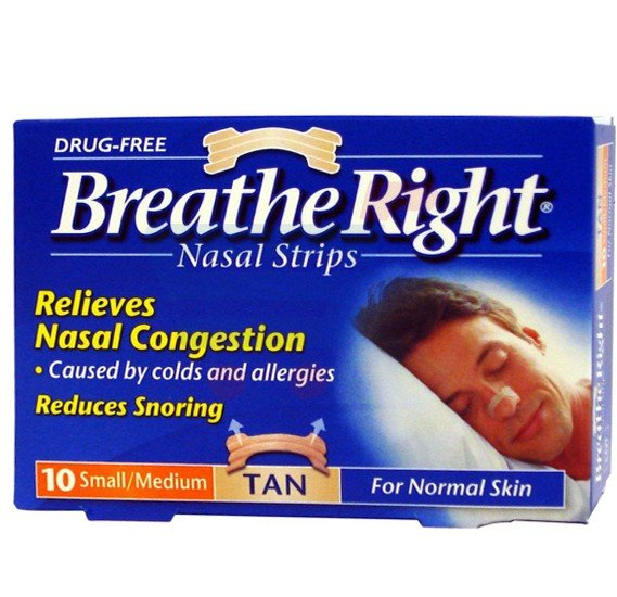 Breathe Right Nasal Strips 10 Strips