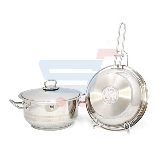 Blumen 3Pc Gastro  Cookware Set  ISFCW03PGR
