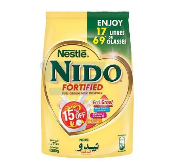 Nestle Nido Milk Powder Pouch 2 25kg