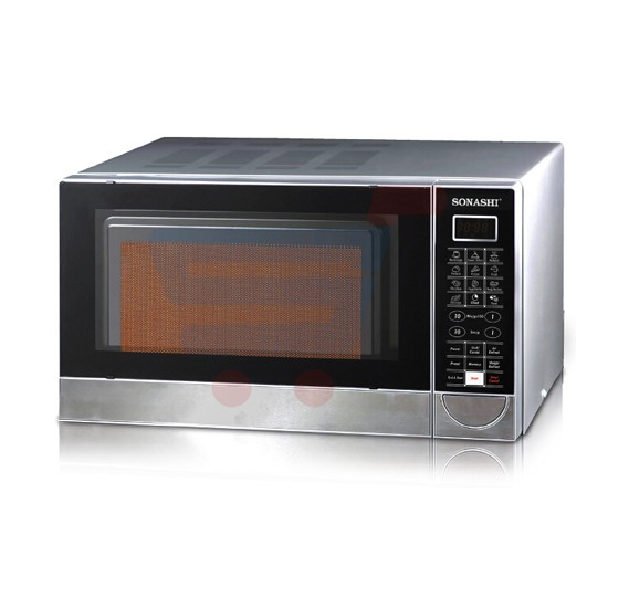 Sonashi 30 Ltr Microwave With Digital Control And Grill Combination Smo 830dg Vde