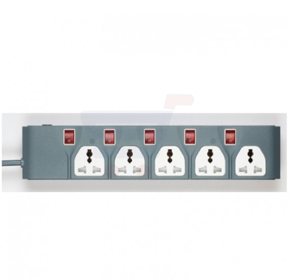 Olsenmark 5 Way Extension Socket - OMES1729