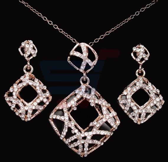 076baa08e6 Buy A&H 18K Gold Plated Jewelry Set - 1A131 Online Dubai, UAE |  OurShopee.com 12413
