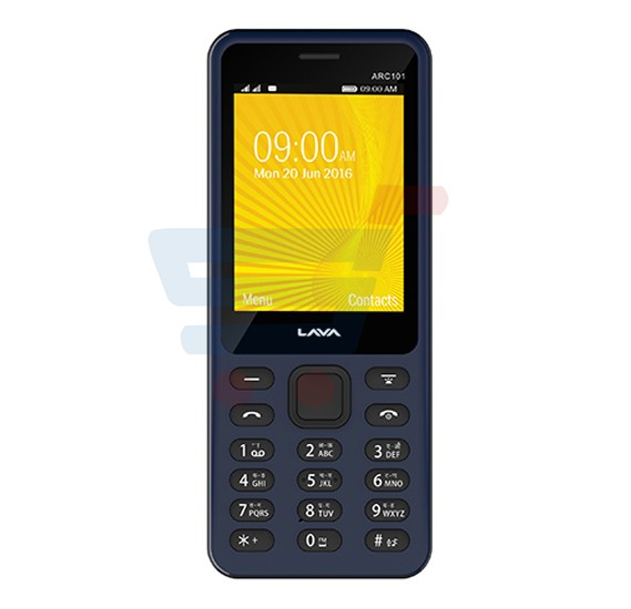 Lava ARC101 2G Mobile 2 4 Inch TFT Display Display Dual SIM Black