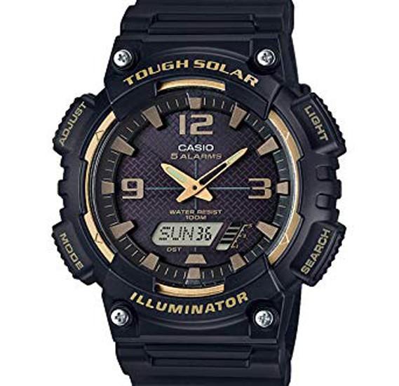 Casio  Analog Digital Resin Band Watch For Men AQ-S810W-1A3VDF (CN)
