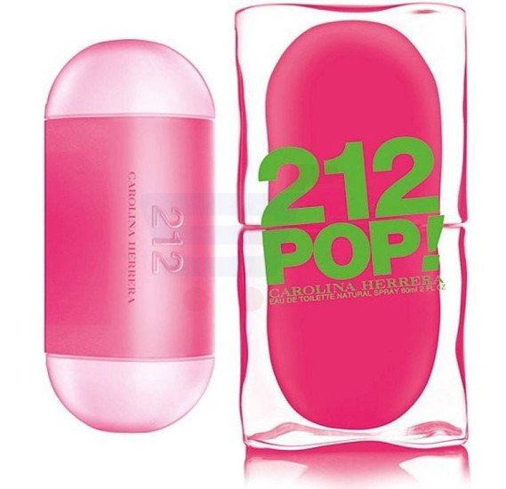 Carolina Herrera 212 Pop EDT 60ml For Women