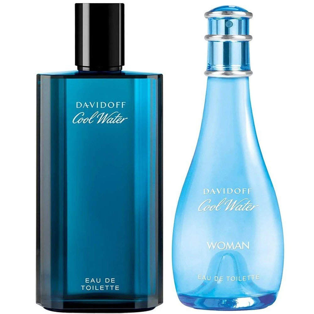 Davidoff Coolwater Perfume 2 in 1 Couple Pack
