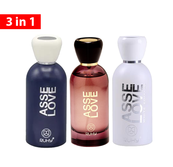 Ruky 3 in 1 Asse Love Perfume Collections