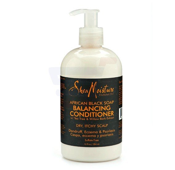 Sheamoisture African Black Soap Balancing Conditioner 13Oz