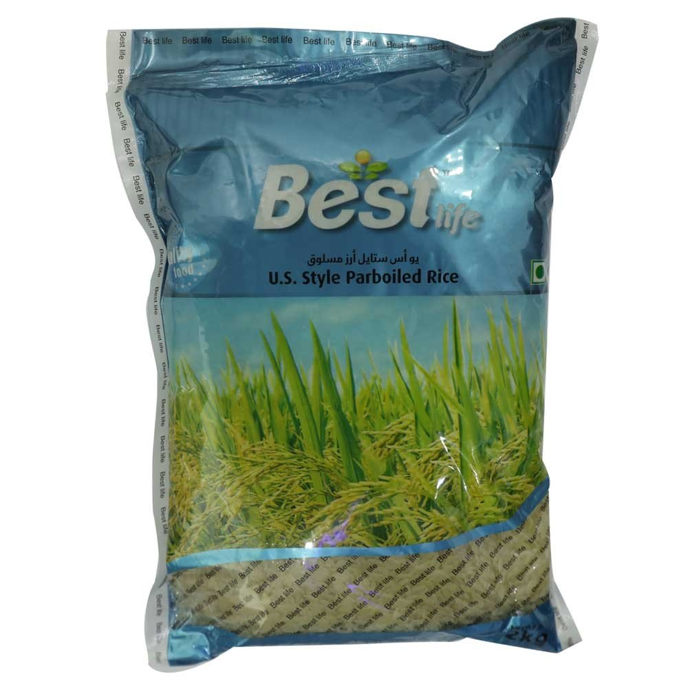 Best Life US Style Parboiled Rice 5kg