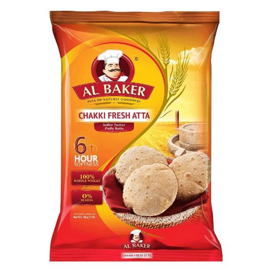 Al Baker Chakki Atta 5kg, 1185111-2