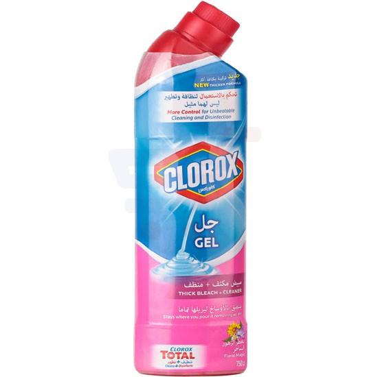 Clorox Multi Purpose Floral Magic Gel Cleaner 750 ml