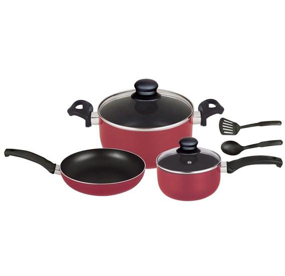 Optima Ns Cookware 7 Pcs Set,CW7N