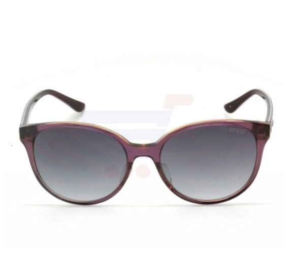 dfb5a6b5de Buy Guess Round Violet Frame   Violet Gradient Mirrored Sunglasses For  Woman - GU7383-81B Online Dubai