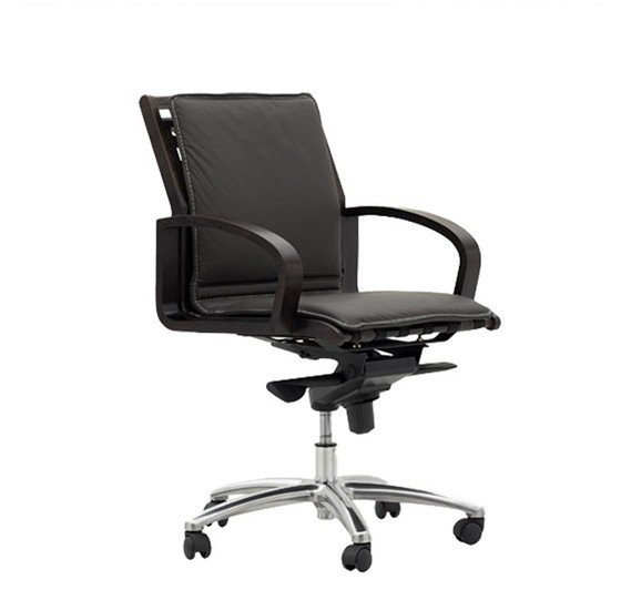 Stories Kubu Office Chair In Walnut Finish STR13871