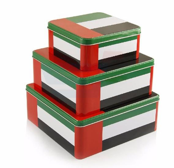 3 PCS Metal Storage Box - TN-2906