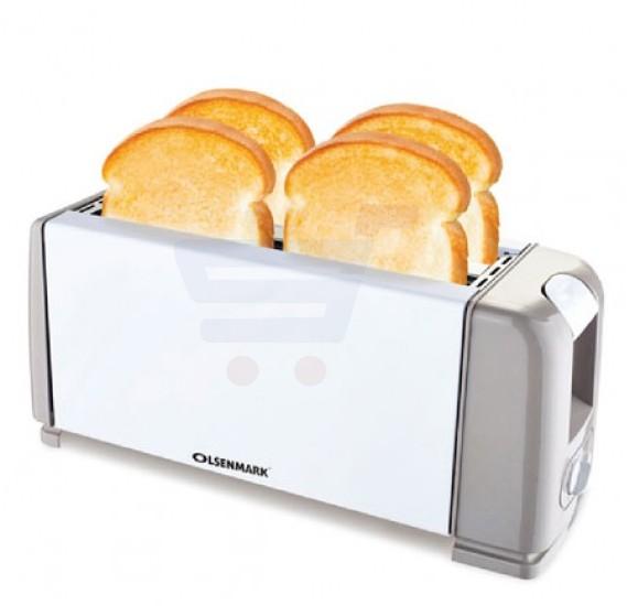 Olsenmark 2 Slice Bread Toaster Auto Shut Off - OMBT2271