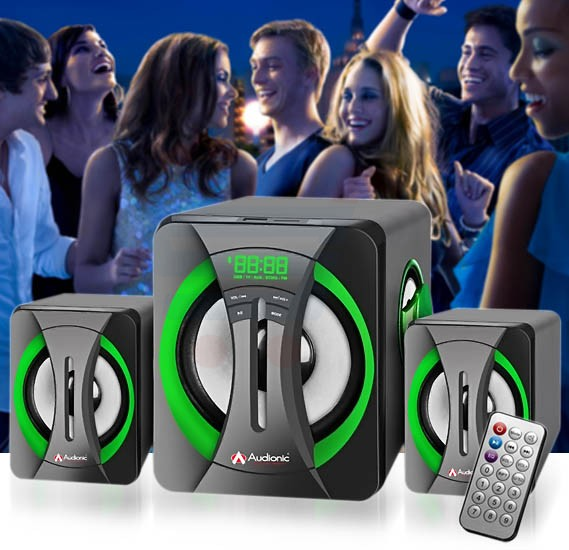 Audionic Bolt-55 2.1 Channel Speaker