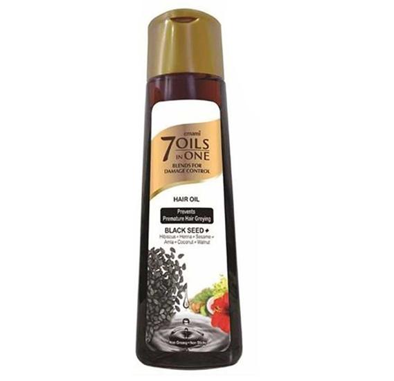 Emami 7 Oils in 1 Black Seed Hair Oil 200ml