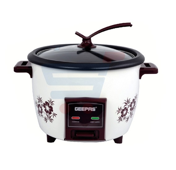 Buy Geepas Electric Rice Cooker Drum Type 1 5 Litre Online