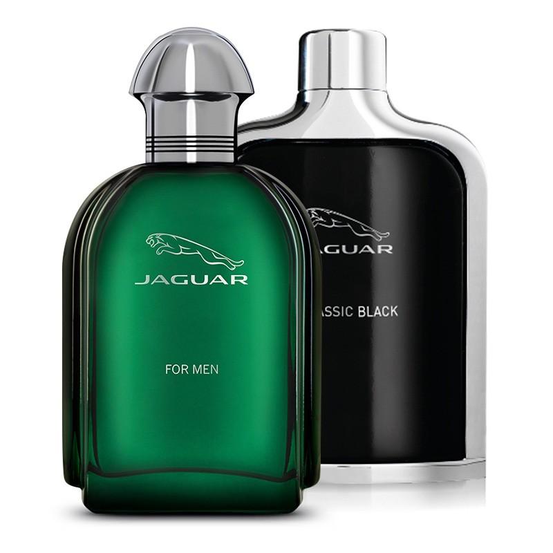 Jaguar 2 in 1 Saver pack of Jaguar Black 100 ml and Jaguar Green 100 ml